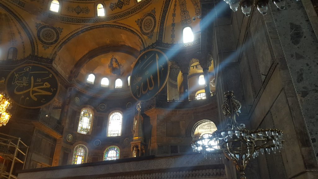 Hagia Sophia and the mix of cultures